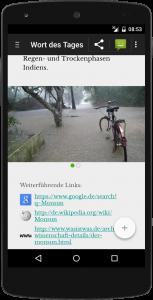 Fremdwort des Tages - Screenshot - Detailansicht mit Image Slider